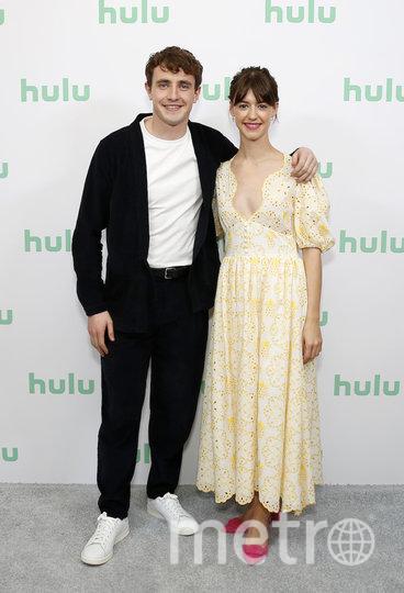 Актёры Пол Мескал и Дейзи Эдгар-Джонс. Фото кадр из сериала
