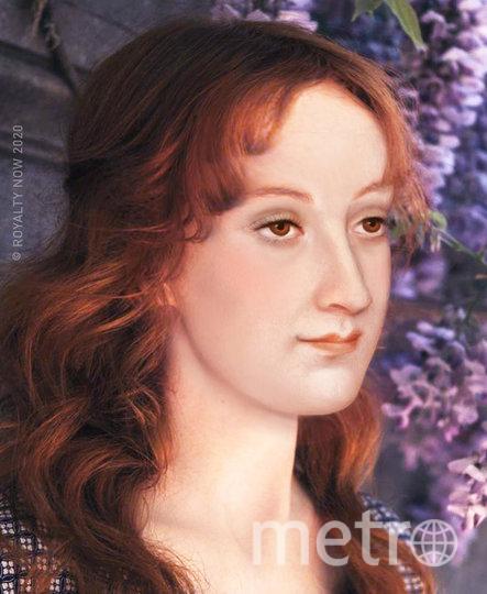 """Мария Стюарт – королева Франции и Шотландии. В исполнении Бекки Саладин. Фото Becca Saladin/@royalty_now_, """"Metro"""""""