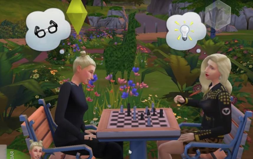 """""""Мастерская Брусникина"""" поставила спектакль в компьютерной игре The Sims 4. Фото Скриншот, Скриншот Youtube"""