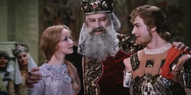 """Фильм """"Руслан и Людмила"""" был снят в 1972 году."""