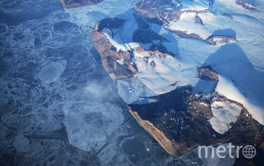"""Воздух над Южным океаном, по мнению учёных, """"страдает"""" от загрязнений меньше всего. Фото Getty"""