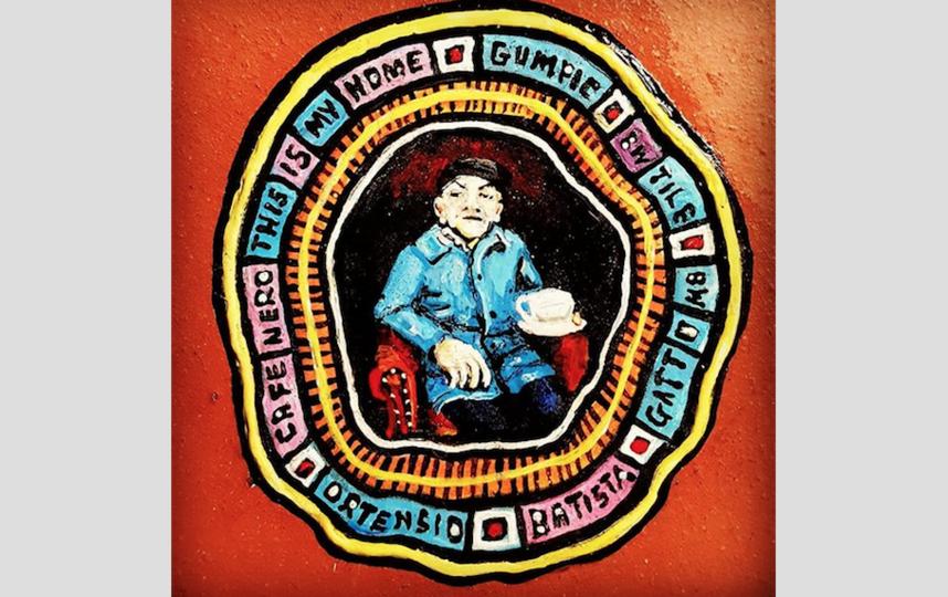 Художника и его работы можно встретить на знаменитом мосту Миллениум. Фото instagram.com/benwilsonchewinggumman