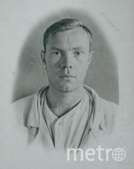 """1943 год. Артиллерист Владимир Фертов в госпитале. Фото предоставлены Людмилой Макаровой, """"Metro"""""""