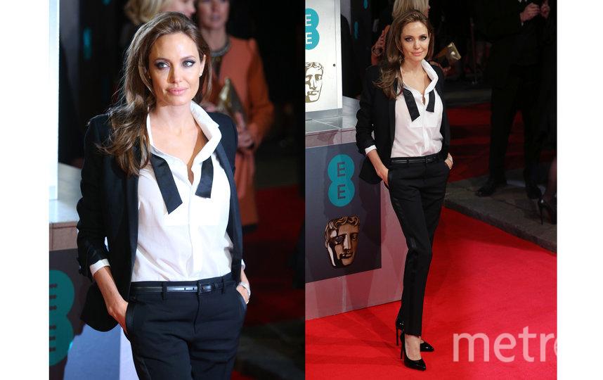 Джоли на премии BAFTA 16 февраля, 2014. Фото Getty
