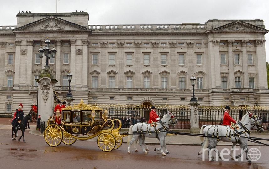 Королевская карета у Букингемского дворец. Фото Getty