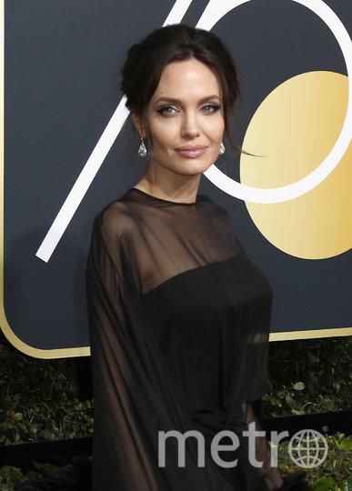 """Анджелина Джоли на премии """"Золотой Глобус"""" в 2018 году. Фото Getty"""