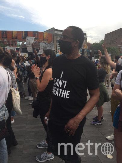 """Нью-Йорк охвачен митингами. Фото Давид Валинский., """"Metro"""""""