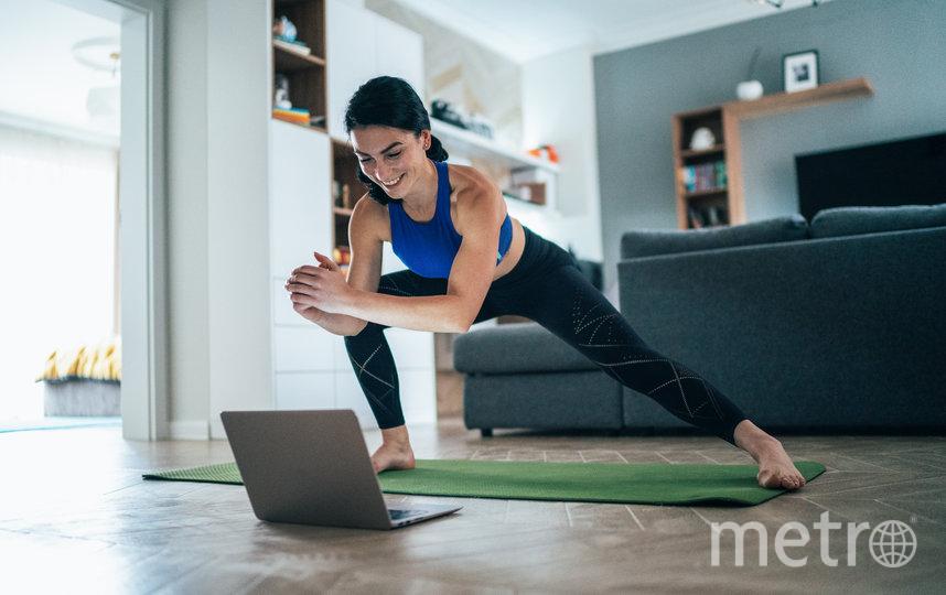 """Занятия практикуют многие люди, вынужденные находиться дома. Фото iStock, """"Metro"""""""