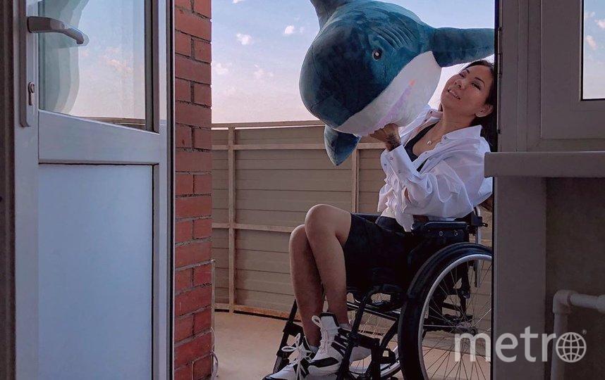 Пандемия – демоверсия нашей жизни: люди с инвалидностью запустили флешмоб. Фото instagram.com/ayunadanilova
