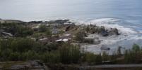 Оползень унёс в море часть норвежской деревни: видео