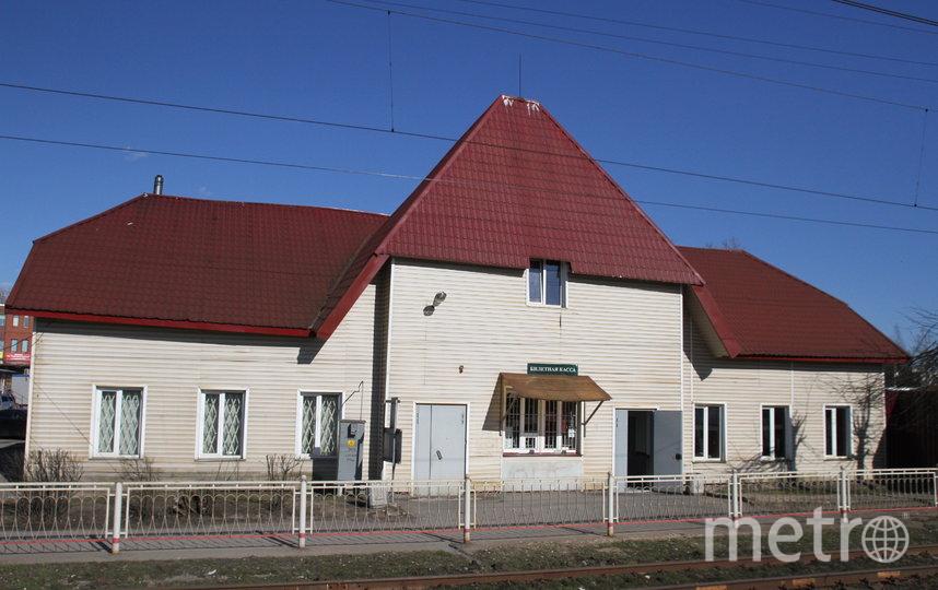 Старинный вокзал в Токсово после ремонта в 2008 году. Фото Дмитрий Сергеев/www.toksov.spb.ru