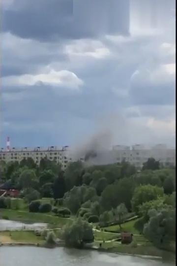 Видео с места событий появилось в Сети. Фото канал Скандалиссимо, Скриншот Youtube