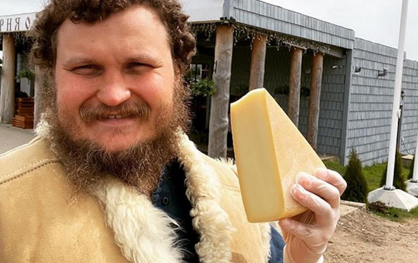 Фермер-сыровар Олег Сирота. Фото скриншот instagram @sirotaoleg