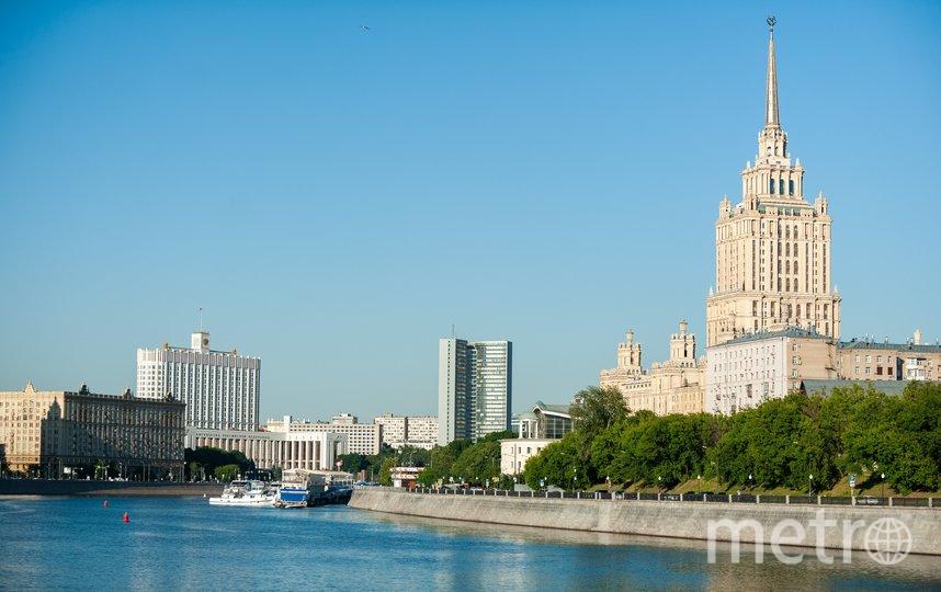 """По словам синоптика, всю следующую неделю температура в городе станет постепенно повышаться. Фото АГН """"Москва""""/Александр Авилов"""