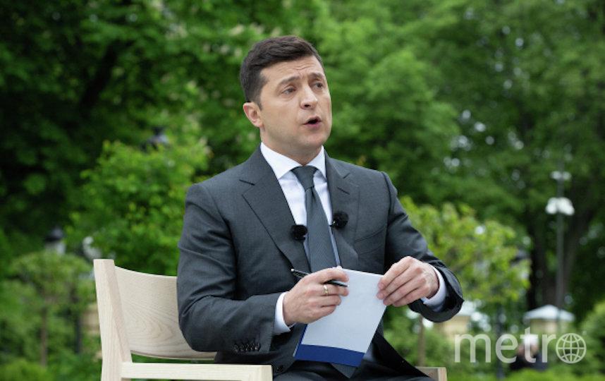Владимир Зеленский. Фото РИА Новости