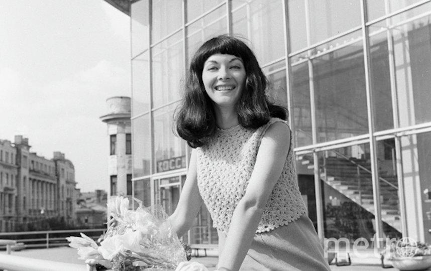 Барбара Брыльска на Московском международном кинофестивале в 1967 году. Фото РИА Новости