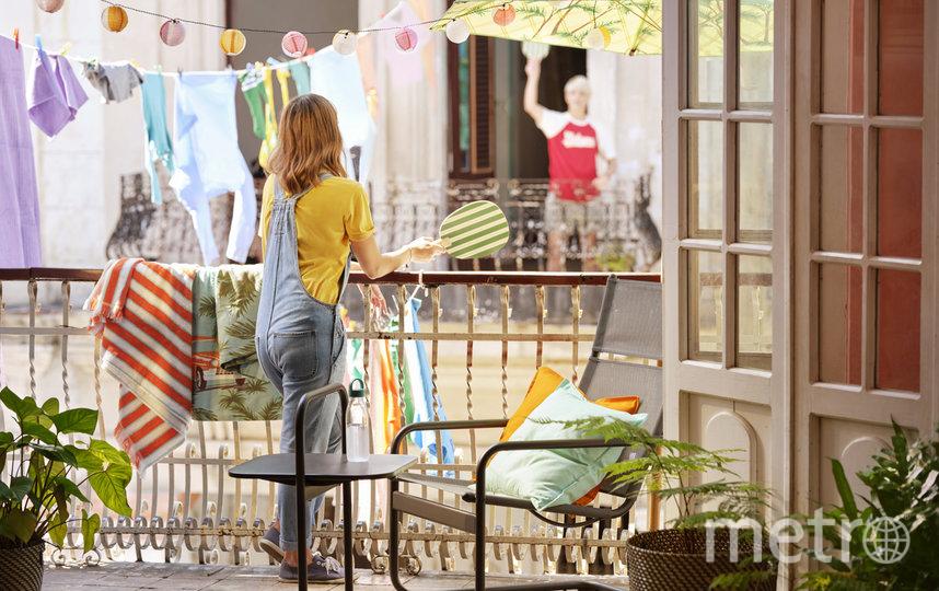 Этой весной балконы стали для многих главным местом отдыха. Фото ИКЕА, Предоставлено организаторами