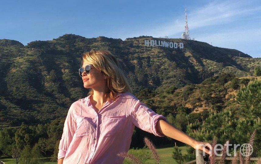Ещё до карантина в США Елена успела изучить Лос-Анджелес, в том числе район Голливуд. Фото предоставлено героиней материала