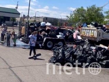 Массовая уборка в Миннесоте. Фото Instagram @esabelle_rose