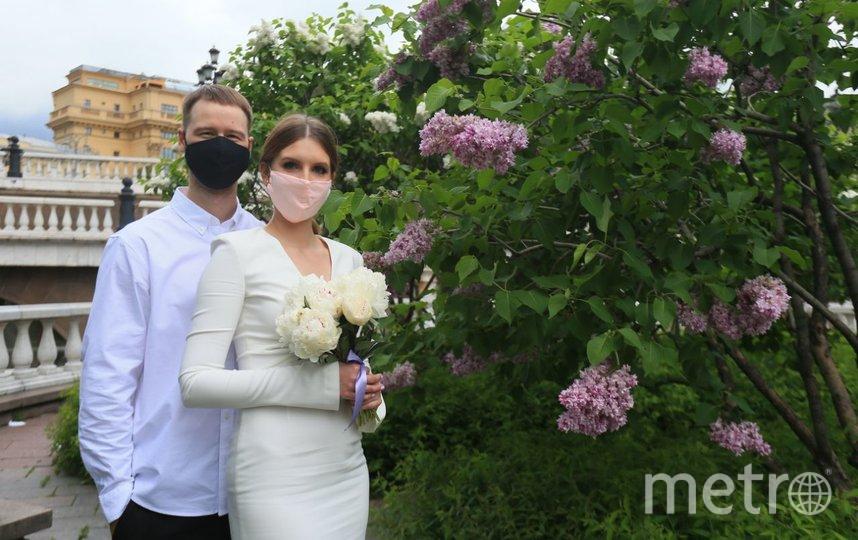 Свадебная пандемическая фотосессия Валерии и Владимира. Фото Василий Кузьмичёнок