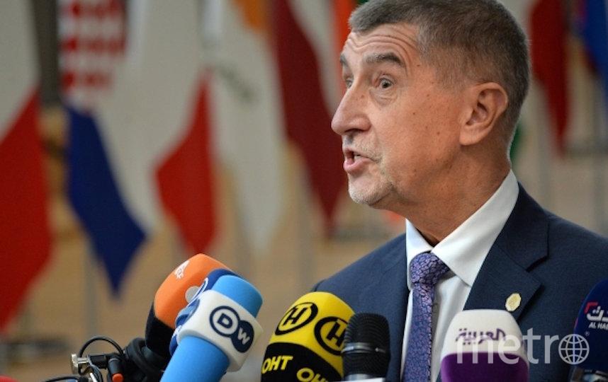 Премьер-миниср Чехии Андрей Бабиш. Фото РИА Новости