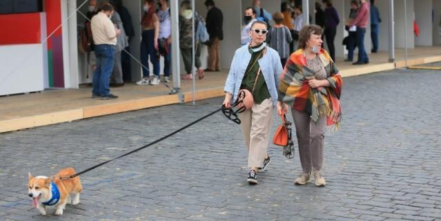 """В субботу в Москве открылся ежегодный книжный фестиваль """"Красная площадь""""."""