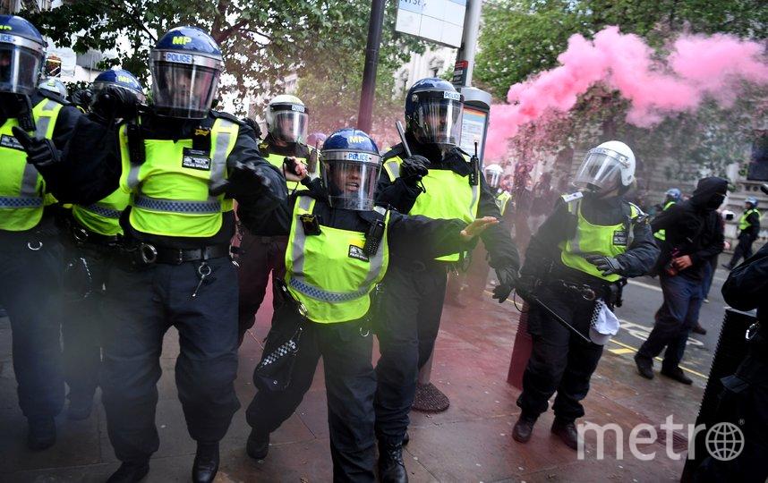 Многочасовая мирная демонстрация перешла в ожесточенные столкновения протестующих с полицией. Фото AFP