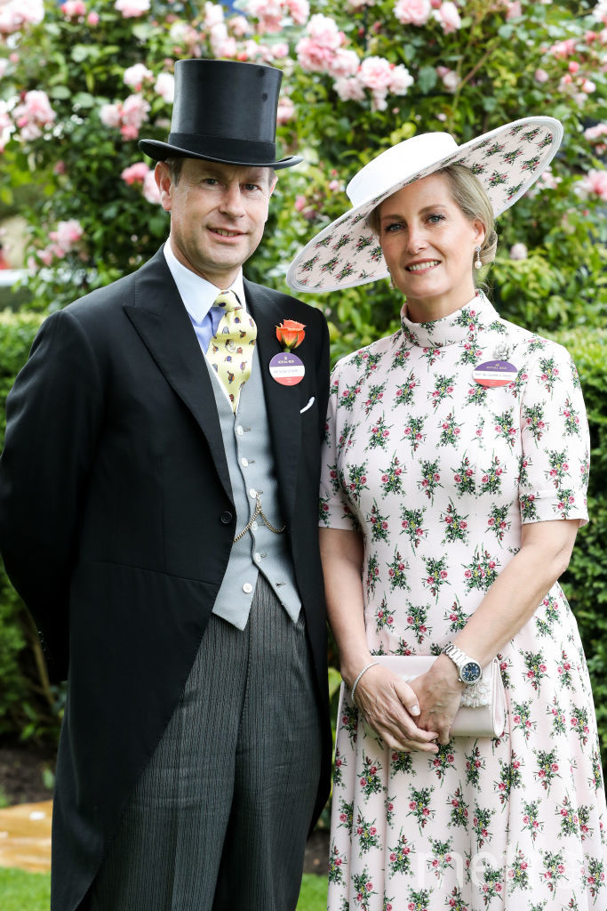 Графиня Уэссекская Софи и принц Эдвард. Фото Getty