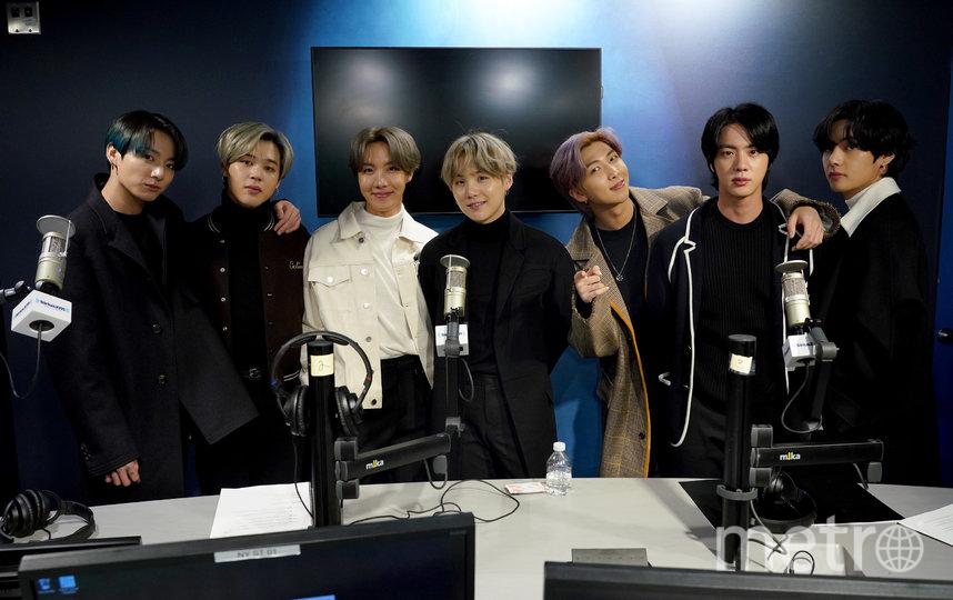 K-pop группа BTS. Фото Getty