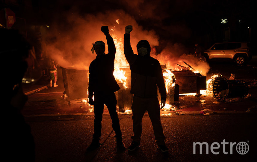 Протесты в США вспыхнули в начале июня. Фото AFP