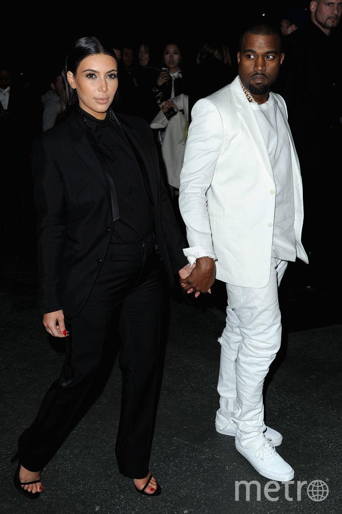 Канье Уэст и Ким Кардашьян. Фото Getty