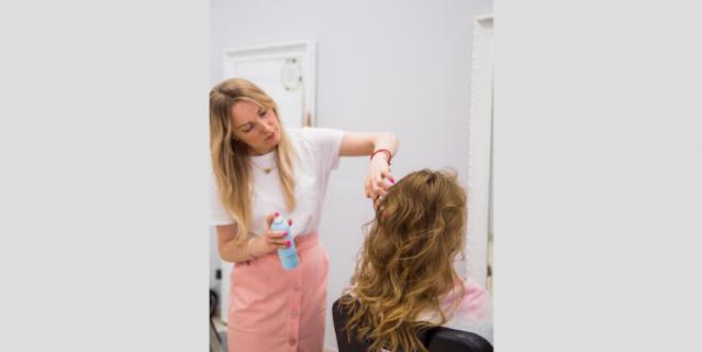 Василина Жило, стилист-парикмахер.