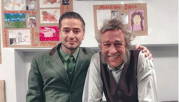 Иван Стебунов приехал на мето ДТП к Михаилу Ефремову. Фото instagram.com/stebunov_i