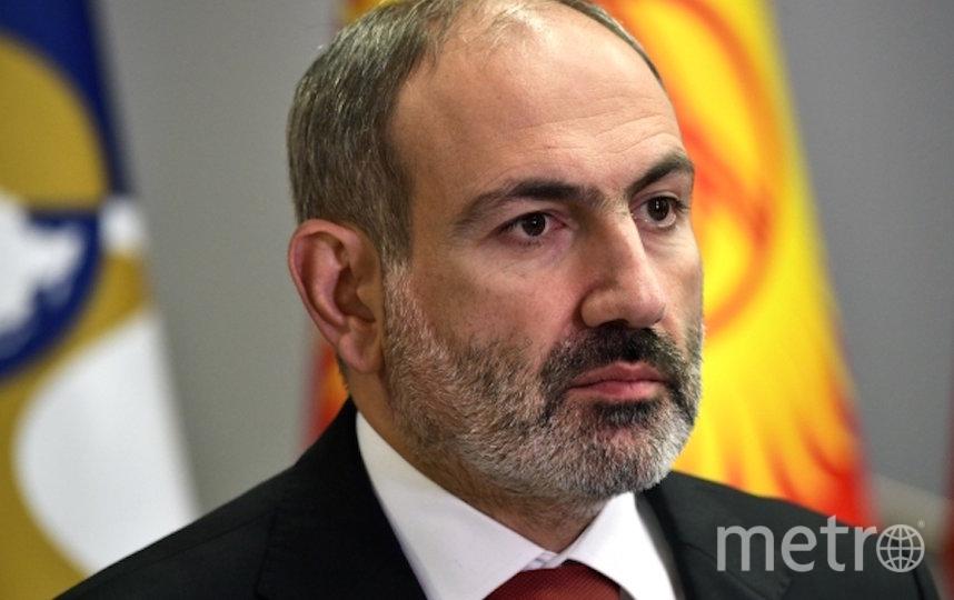 Премьер-министр Армении Никол Пашинян. Фото РИА Новости