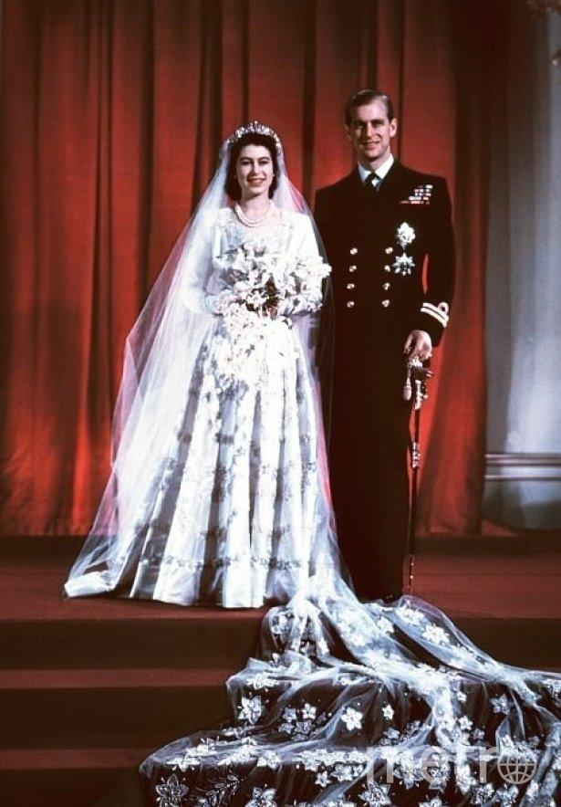 Cвадьба Елизаветы II. Фото Getty