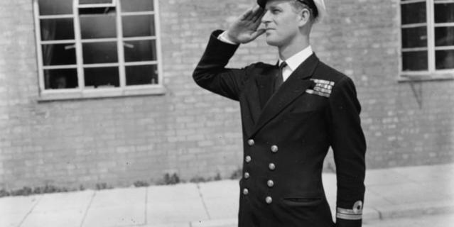 Принц Филипп 1947 год.