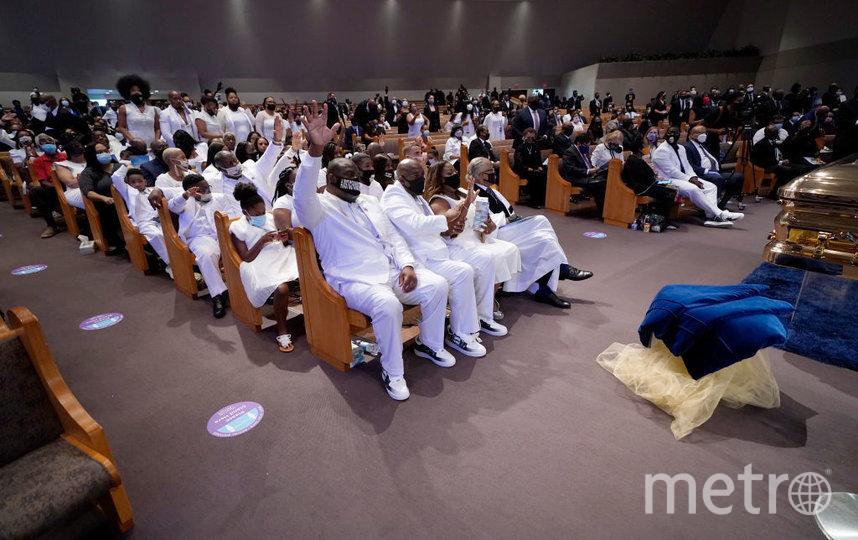 Похороны Флойда. Фото Getty