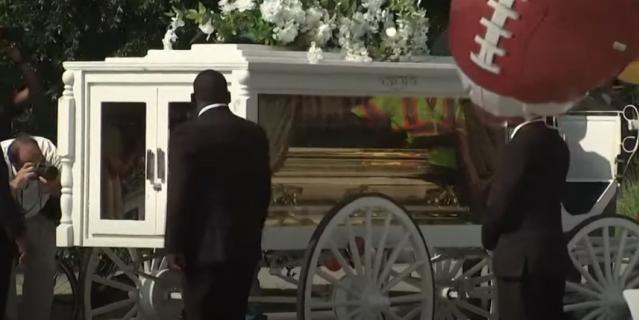 Похороны Флойда.