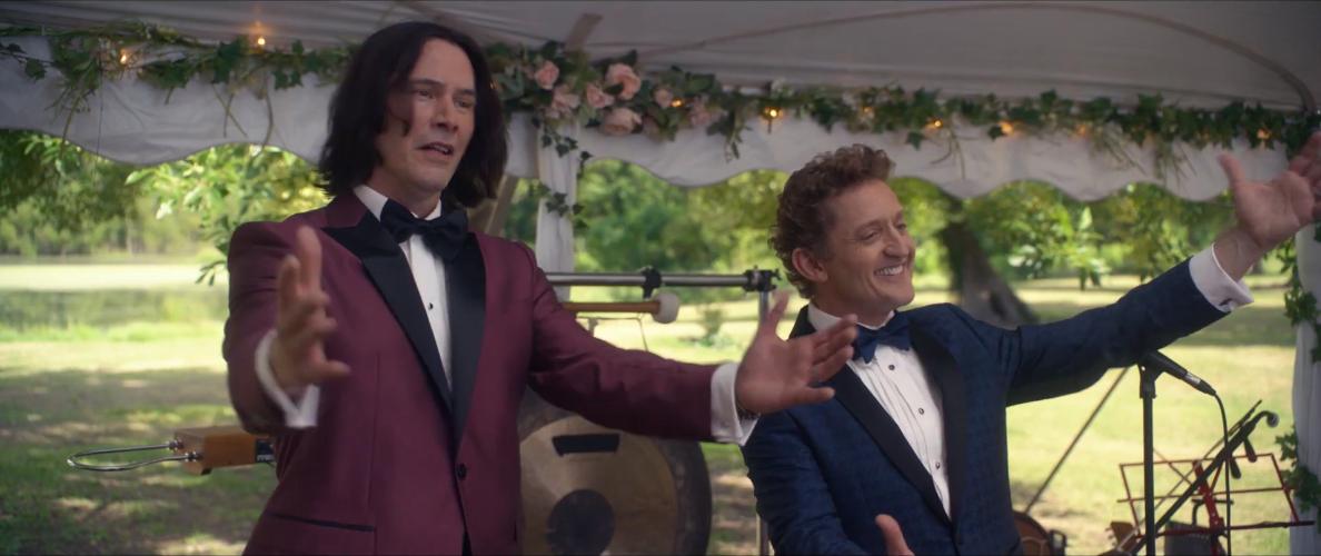 "Кадр из трейлера фильма ""Билл и Тед"". Фото Скриншот Youtube"