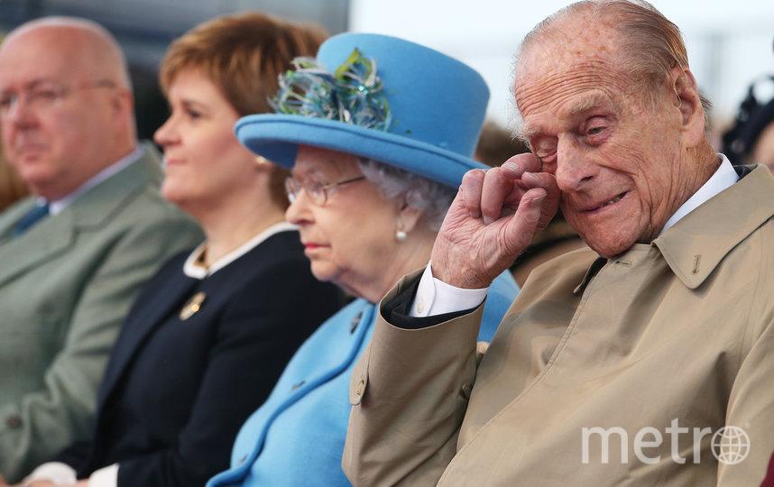 Принц Филипп с женой на официальном приёме. Фото Getty