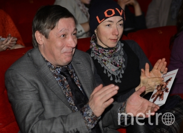 Михаил Ефремов с женой. Фото Екатерина Чеснокова., РИА Новости