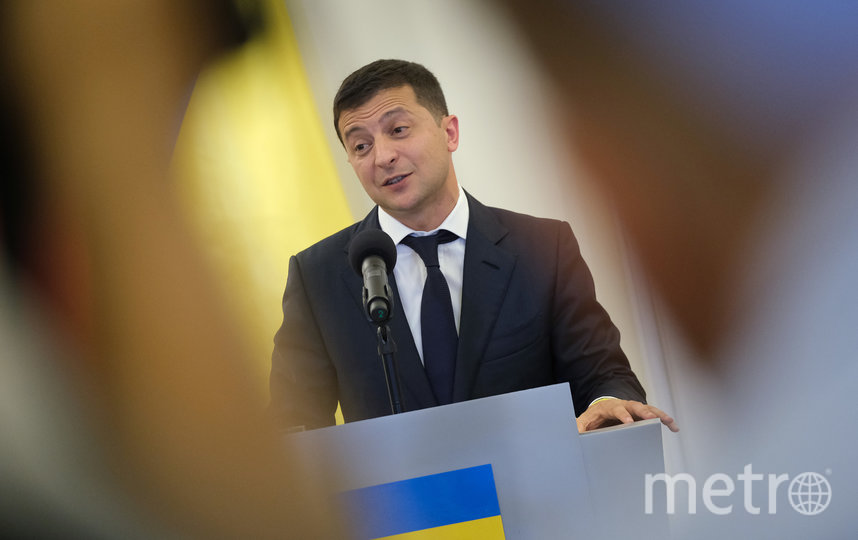 Президент Украины Дмитрий Зеленский. Фото Getty