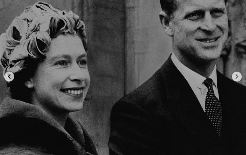 Принц Филипп с Елизаветой II. Фото Instagram @theroyalfamily