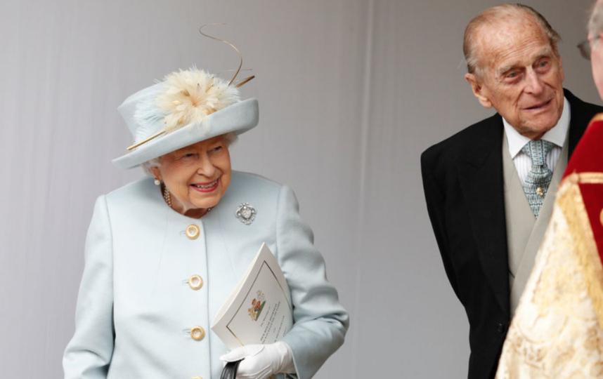 Принц Филипп с Елизаветой II. Фото Getty