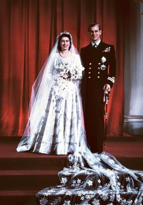 Свадьба принца Филиппа с Елизаветой II. Фото Getty