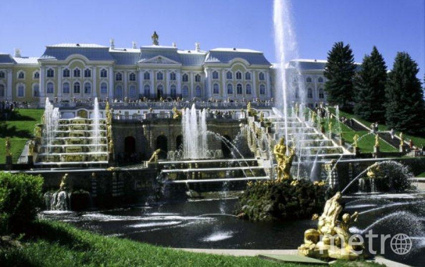 Петергоф - федеральный музей. Фото Getty
