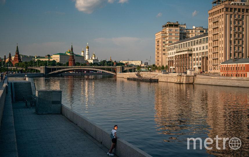 В Москве установилась жаркая погода. Фото AFP