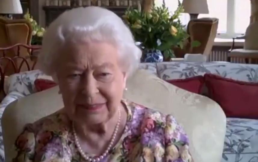 Королева Елизавета II. Фото скриншот видео Twitter @theroyalfamily