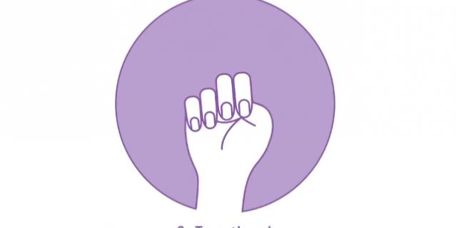 Жест, с помощью которого можно попросить помощи: сжать оставшиеся пальцы в кулак.