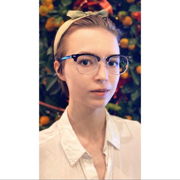 Анна Мария Ефремова. Фото скриншот https://www.instagram.com/amefremova/?hl=ru